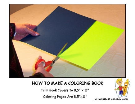 01-Trim Covers- How to Make a Coloring Book at YesColoring