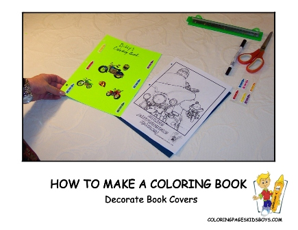 04-Decorate - How to Make a Coloring Book at YesColoring
