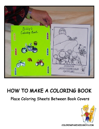 How To Make A Coloring Book Your Own Books Free