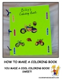 How To Make A Coloring Book Tutorial