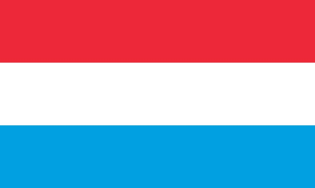 Regal National Flag Coloring Iceland Luxembourg Free