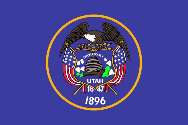 Coloring Pages Utah State Flag