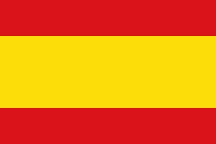 Spain flag colors bed mattress sale for Spain flag coloring page