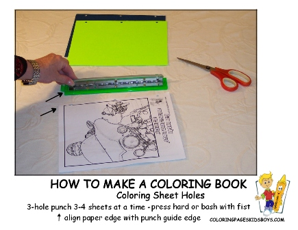 03-Coloring Sheets Holes - How to Make a Coloring Book at YesColoring