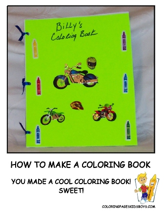 07-Finished Coloring Book - How to Make a Coloring Book at YesColoring