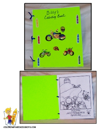 Easy Make Coloring Book at YesColoring